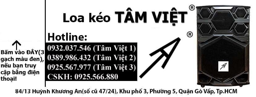 Loa Kéo Tâm Việt
