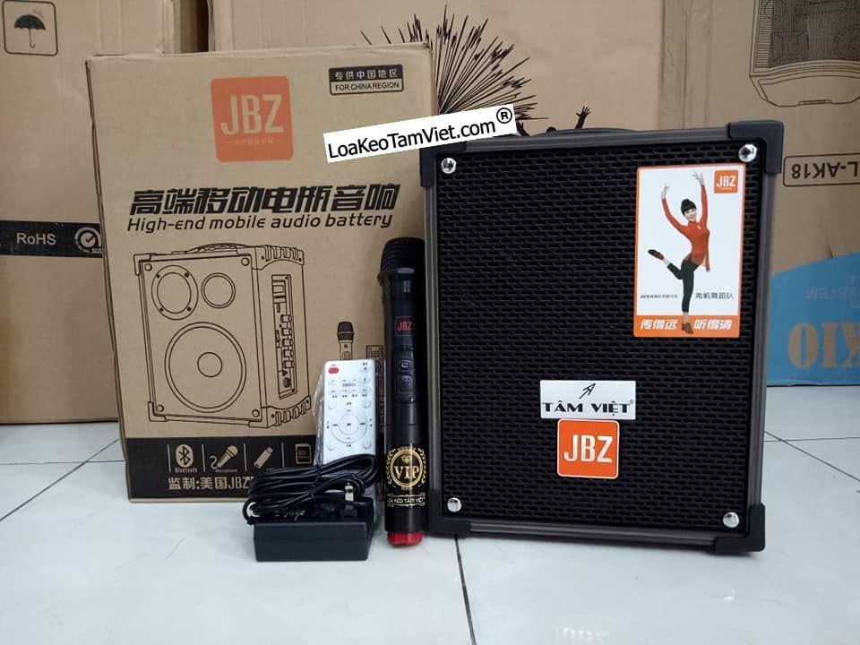 "Loa karaoke di động ""JBZ NE-106"" bass 1,6 tấc."
